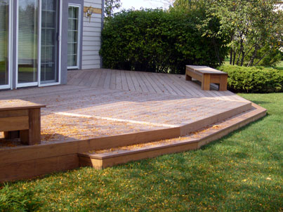 Home decks unlimited of san francisco ca 94110 for Simple platform deck plans
